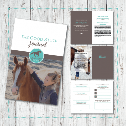 The Good Stuff Journal by Jane Pike, the Confident Rider